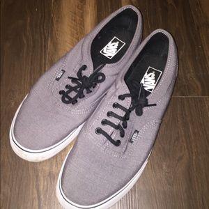 Grey vans casual shoes